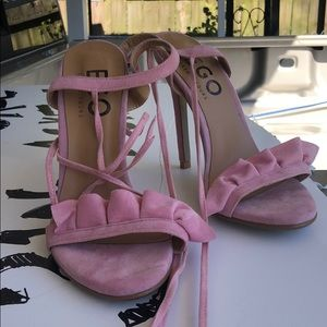 Ego pink heels6 new